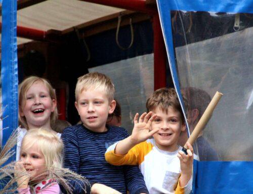 Hunderte feiern Erntefest in Dötlingen