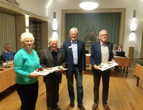 Drei sehr verdiente Bürger ausgezeichnet