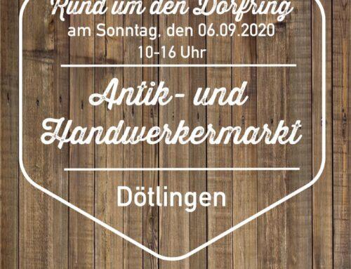 Antik- und Handwerkermarkt in Dötlingen